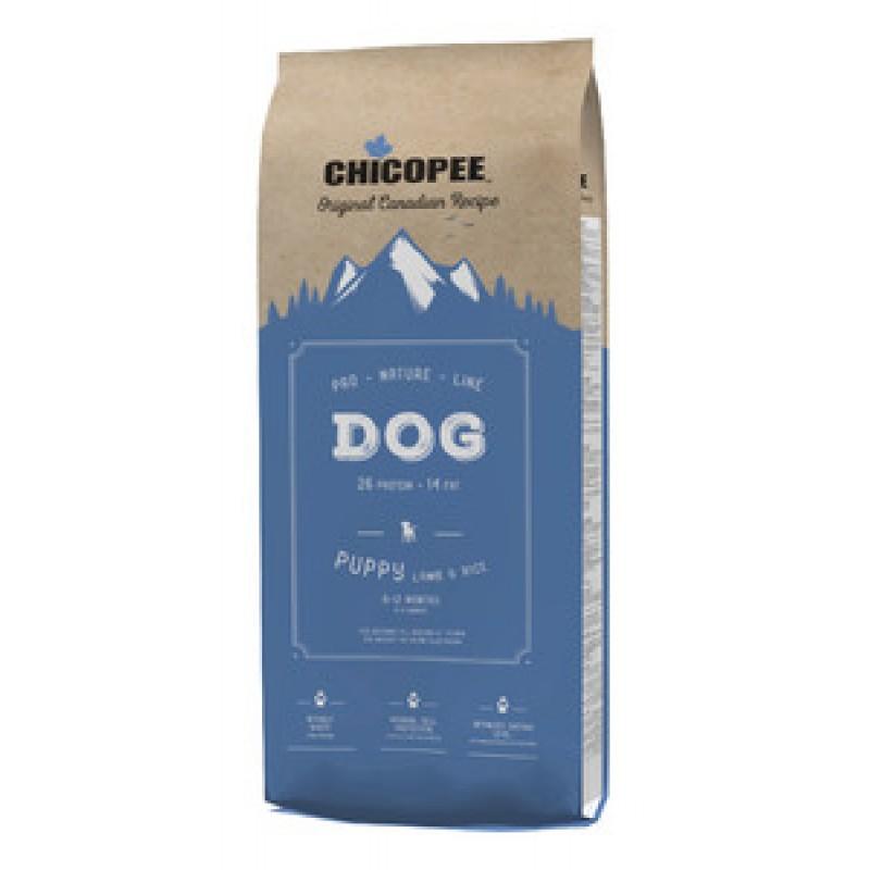 Chicopee PNL для щенков всех пород с ягненком и рисом 20кг