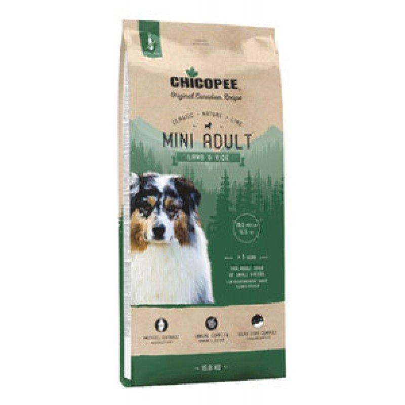 Chicopee CNL для взрослых собак мелких пород с ягненком и рисом