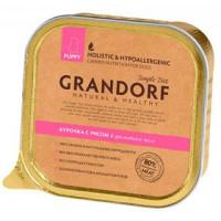 "GRANDORF Chicken & Rice Puppy - ""Грандорф"" курица с рисом для щенков - 150 гр"