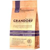 """GRANDORF Rabbit & Rice Adult Sterilized (37/12) - """"Грандорф"""" с кроликом и рисом для пожилых, кастрированных и склонных к полноте кошек"""
