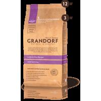 """GRANDORF Lamb & Rice Adult Large Breed (25/13) - """"Грандорф"""" для собак крупных пород с ягненком и рисом"""