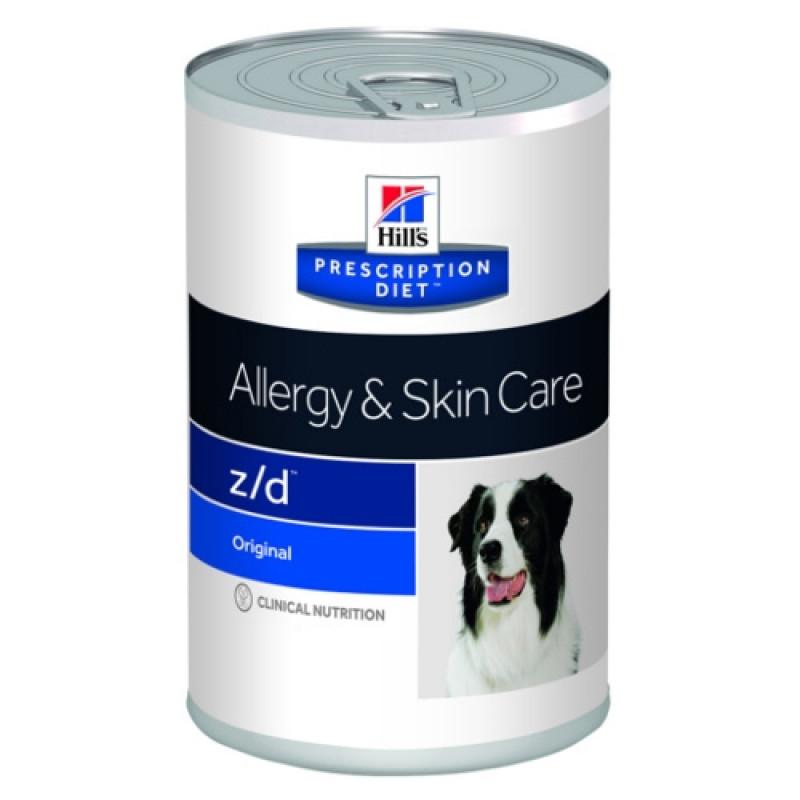 Hills Canine Z|D Консервы для собак с острой пищевой аллергией