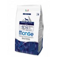 Monge Dog Medium корм для взрослых собак средних пород 12 кг