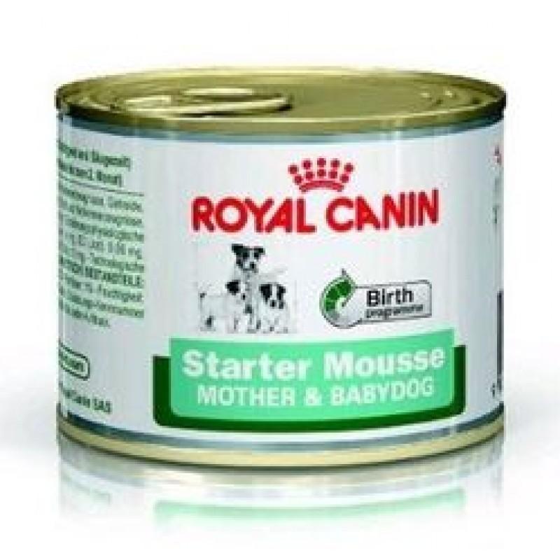Royal Canin Starter Мусс для щенков и беременных и кормящих сук 195гр