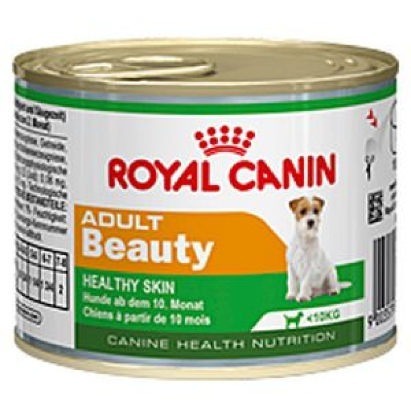 Royal Canin Adult Beauty Мусс для взрослых собак с 10 месяцев до 8 лет. Здоровье шерсти и кожи
