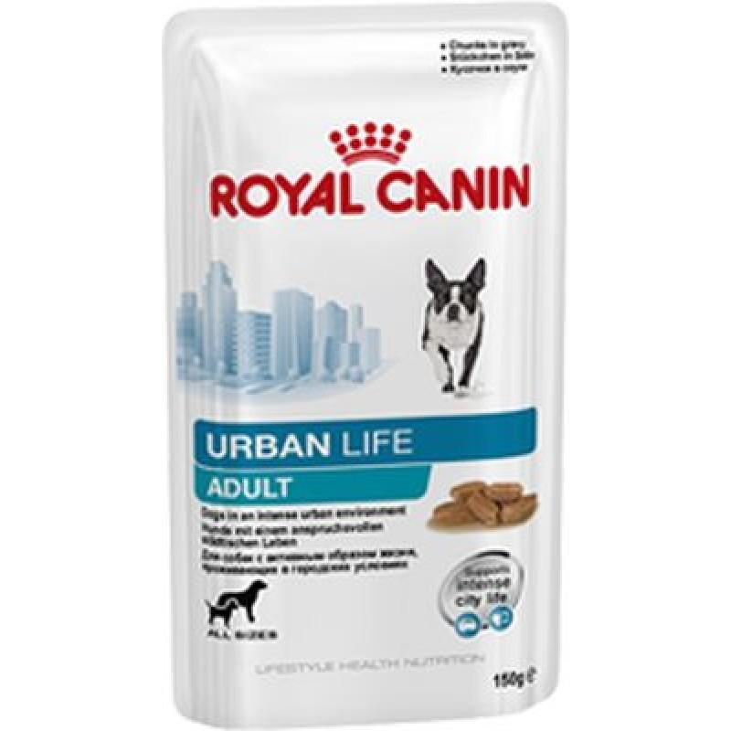 Royal Canin Urban Life Junior Wet Полнорационный корм для щенков в возрасте до 10/15 месяцев, живущих в городских условиях