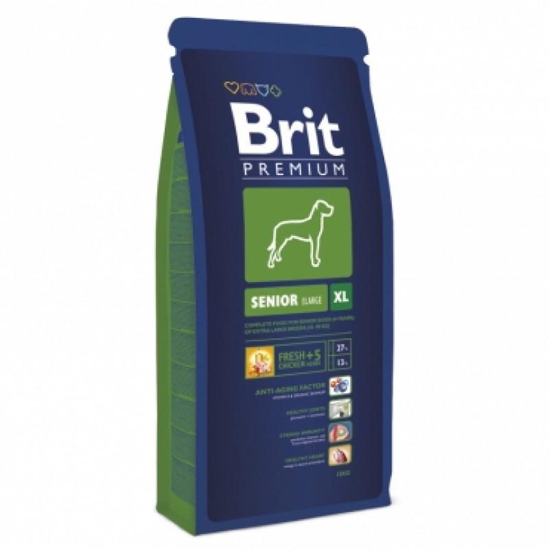 Brit Premium Senior XL д/пожилых собак гигантских пород