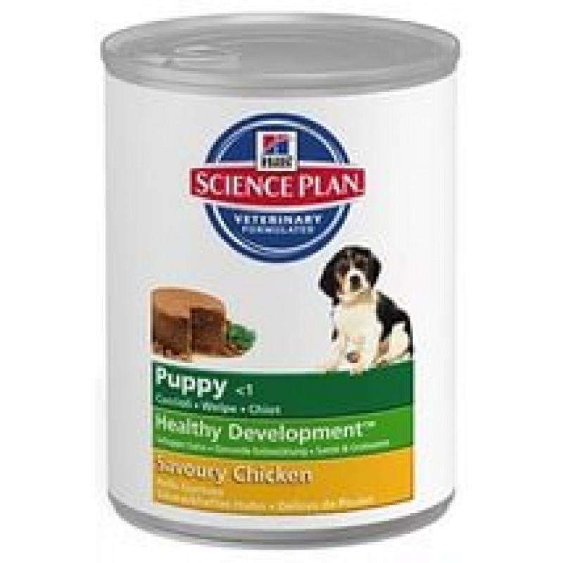 Hills Puppy Chicken Консервы для щенков с курицей