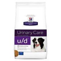 Hills Canine U|D Для собак лечение МКБ (ураты, оксалаты, циститы) и тяжелых заболеваний почек