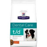 Hills Canine T|D Лечебный корм для собак с заболеваниями ротовой полости