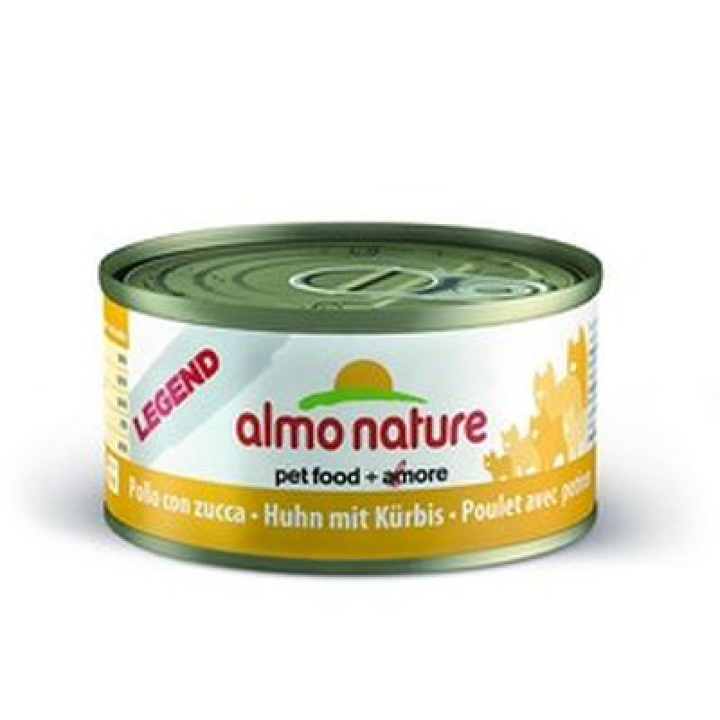 ALMO NATURE LEGEND кон. д/кошек с Курицей и Тыквой 75% мяса 70гр