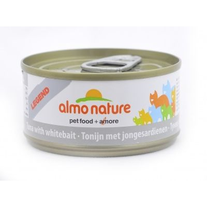ALMO NATURE LEGEND кон. д/кошек с Тунцом и Сардинками 70гр