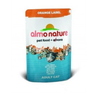 ALMO NATURE ORANGE LABEL кон. д/кошек с Тунцом 70гр