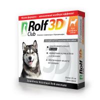 ROLF CLUB 3D Ошейник от клещей  д/собак средних пород