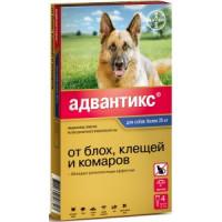 Байер Адвантикс Капли д/собак более 25кг от блох и клещей 1пипетка 4мл