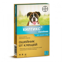 Килтикс Ошейник д/собак от блох и клещей 48см