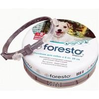Байер Foresto  Ошейник д/собак < 8кг от клещей, блох и вшей, защита 8 месяцев 38см