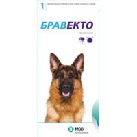 Bravecto / Бравекто 1000мг таблетка инсектоакарицидная д/собак 20-40кг