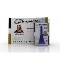 Inspector инсекто-акарицидные капли от всех паразитов для собак (до 4 кг)