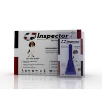 Inspector инсекто-акарицидные капли от всех паразитов для собак (от 10 до 25 кг)*4*16