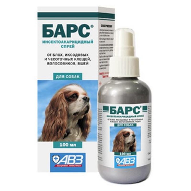 Барс Спрей д/собак инсектоакарицидный 100мл  (флакон)