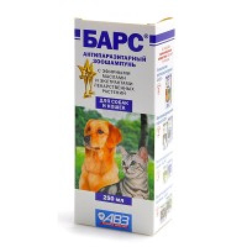 Барс Шампунь д/собак и кошек от блох лечебный 250мл