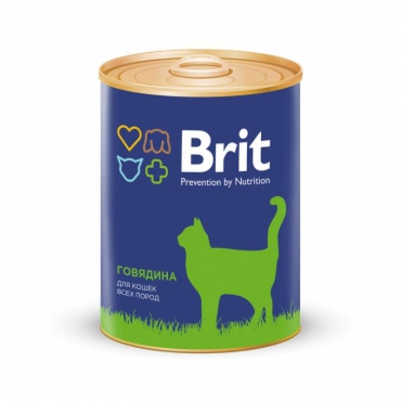 Brit Premium «Говядина» Консервы премиум класса