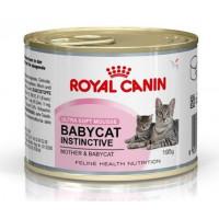 Royal Canin Babycat Instinctive Мусс для котят до 4 месяцев