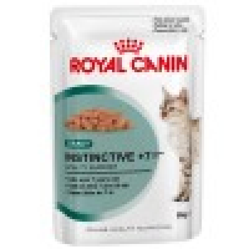 Royal Canin Instinctive +7 Влажный корм для кошек старше 7 лет (СОУС)