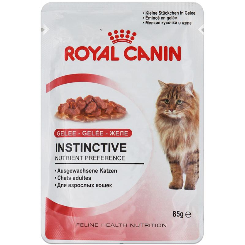 Royal Canin Instinctive Влажный корм для кошек старше 1 года (ЖЕЛЕ)