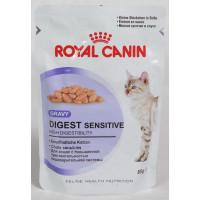 Royal Canin Digest Sensitive Влажный корм для кошек с чувствительным пищеварением (СОУС)