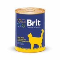 Brit Premium «Мясное ассорти с потрошками» Консервы премиум класса