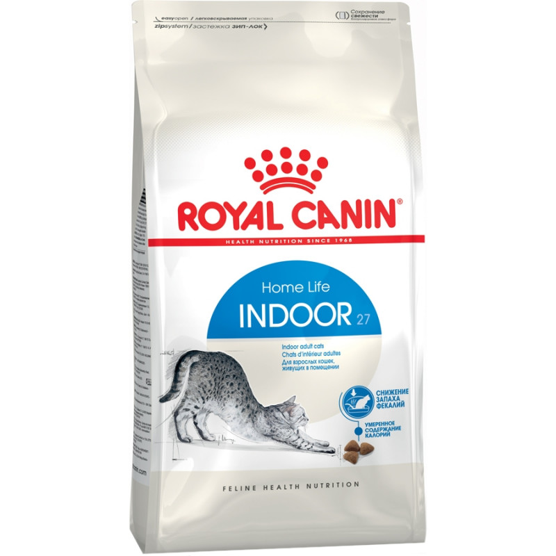 Royal Canin Indoor 27 Корм для кошек старше 1 года