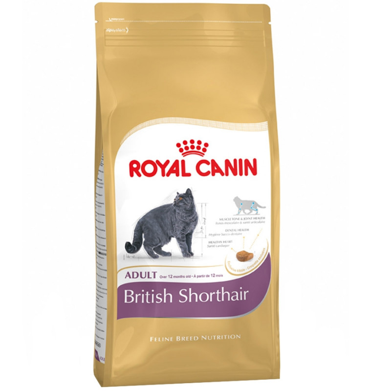 Royal Canin British Shorthair 34 Корм для кошек породы Британская короткошерстная старше 12 месяцев