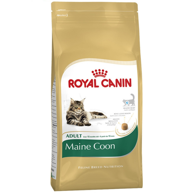 Royal Canin Maine Coon  Корм для кошек породы Мейн Кун старше 15 месяцев