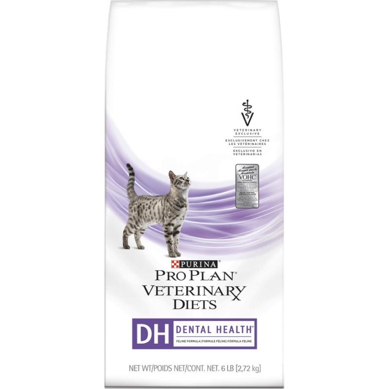Purina Veterinary Diets DH Корм для кошек при заболевании ротовой полости 1 кг