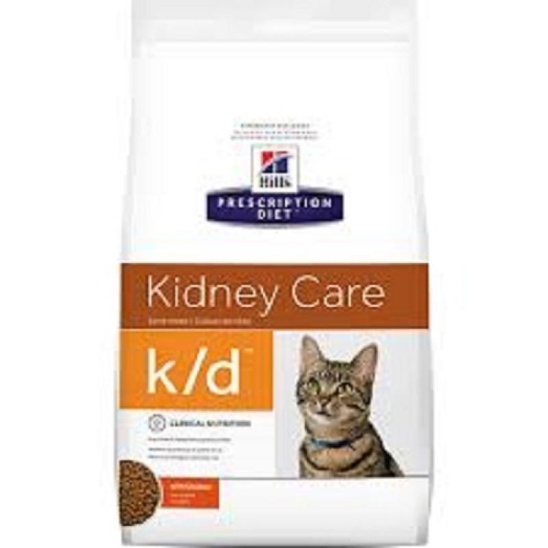 Hills Feline K|D Лечебный корм для кошек, лечение заболеваний почек,МКБ (оксалаты, ураты)
