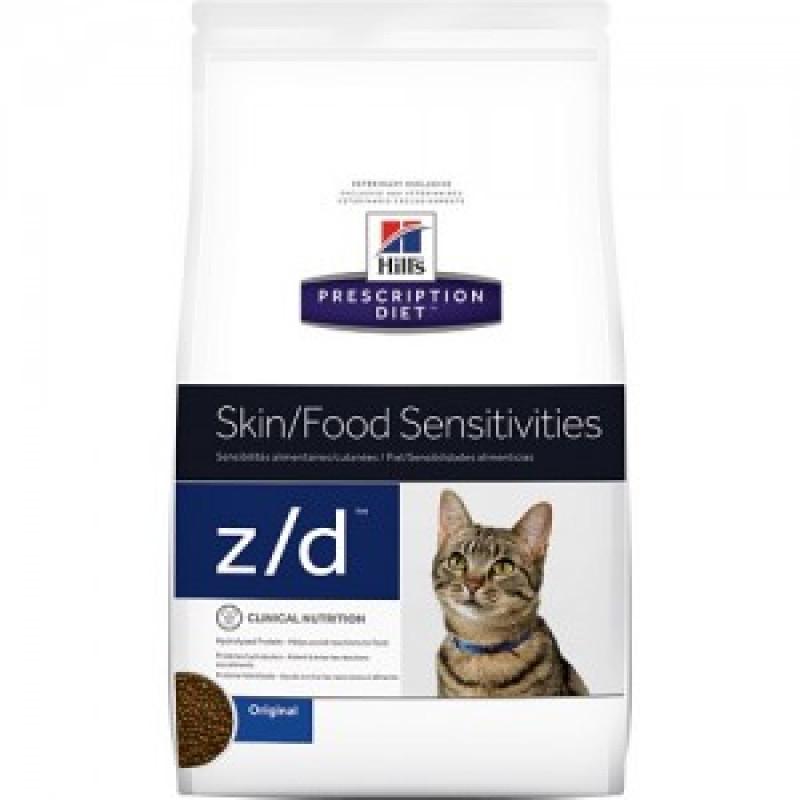 Hills Feline Z|D Лечебный корм для кошек, лечение пищевых аллергий