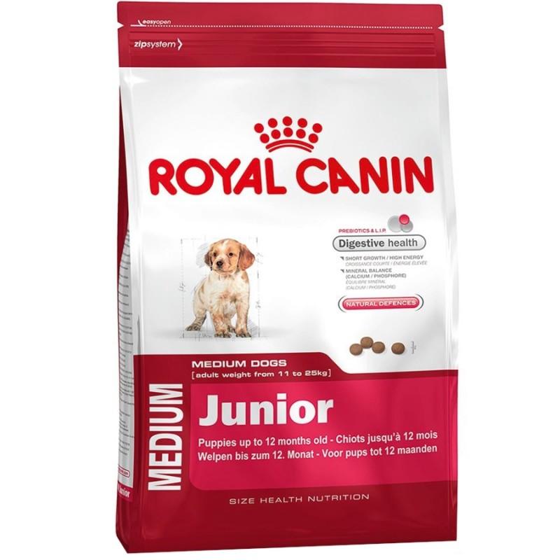 Royal Canin Medium Junior 32 Корм для щенков до 12 месяцев