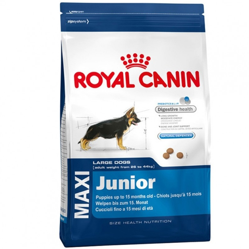 Royal Canin Maxi Junior  Корм для щенков от 2 до 15 месяцев