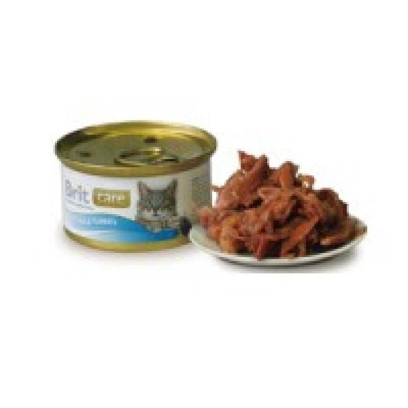 Brit Care Tuna Turkey Консервы для кошек с тунцом и индейкой