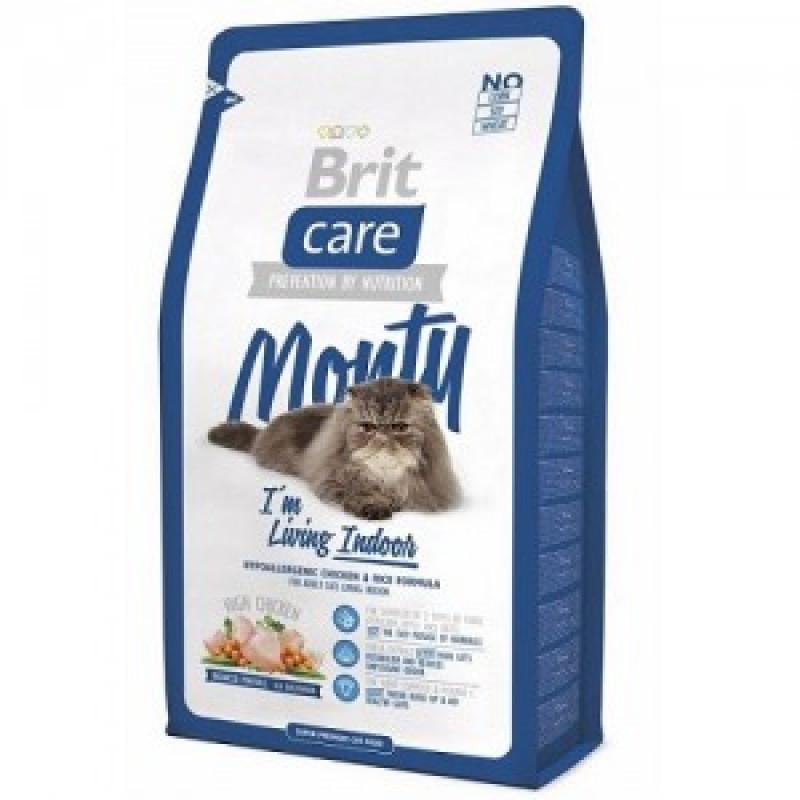 Brit Care Cat Monty Indoor д/кошек, Живущих в помещении