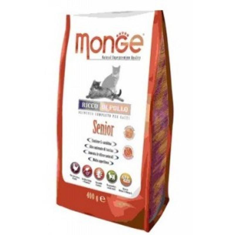 Monge Cat Senior Сухой корм для пожилых кошек 400 г