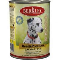 Беркли Консервы для собак Говядина с картофелем 400г