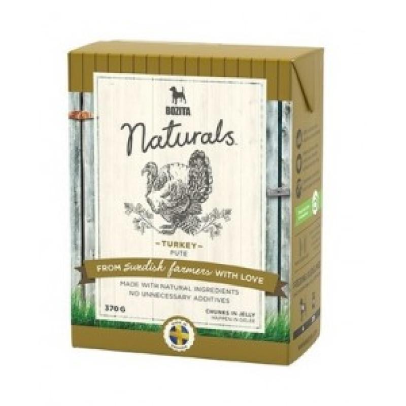 Bozita Naturals Turkey Консервы для собак кусочки в желе с Индейкой