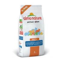 Almo Nature Holistic Сухой корм для взрослых кошек с белой рыбой и коричневым рисом