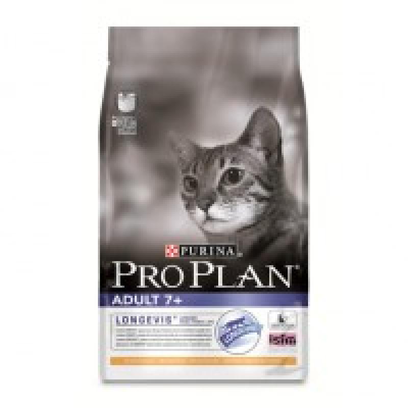 Pro Plan Vital-Age 7+ -Корм сухой для кошек старше 7 лет -курица и рис