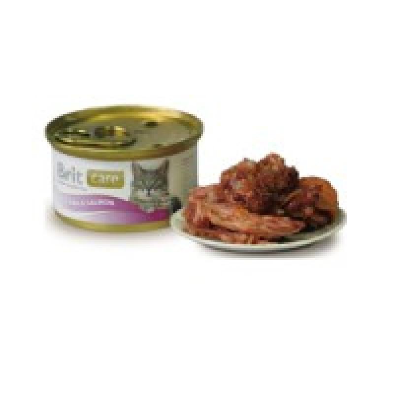 Brit Care Tuna Salmon Консервы для кошек с тунцом и лососем