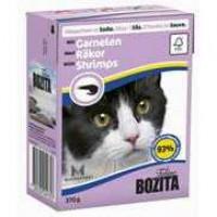 Bozita Shrimps Cat Кусочки в соусе с креветками для кошек 370г