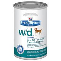 Hills Canine W|D Консервы для собак лечение сахарного диабета, запоров, колитов